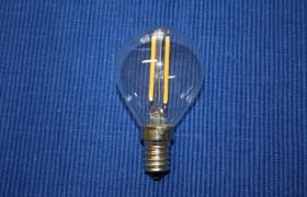 LED P45 E 14 Faden Birne