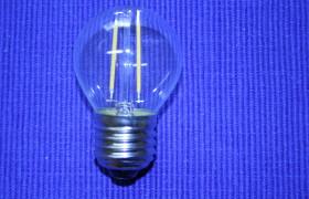 LED G45 E27 Faden Birne