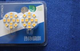 LED G4 Platten Warm Weiß 3000 K