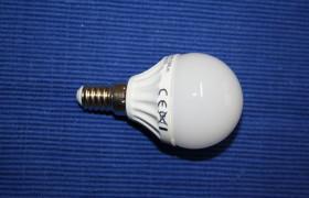 LED Birne E14 4W P45 4500k