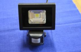 LED Flutlichtstrahler 10 W mit Sensor