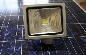 LED Flutlichtstrahler 30 W mit Sensor