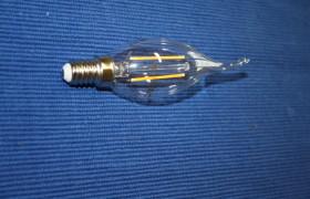 LED Flammen Faden Kerze